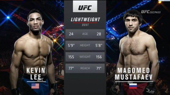 Кевин Ли VS. Магомед Мустафаев. UFC Figth Night 99. ПОЛНЫЙ БОЙ.