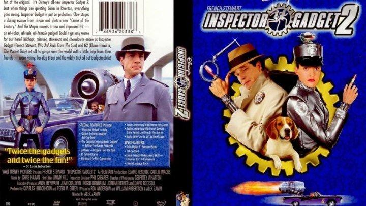 Инспектор Гаджет 2 (2003) Приключения, Семейный.
