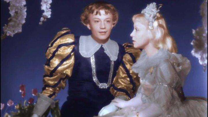 Золушка (1947) СССР сказка (цветная версия)