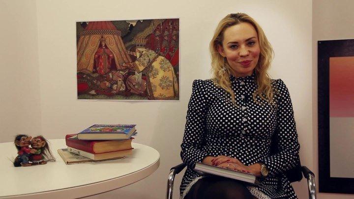 """Елена Абитаева, ведущая радиостанции """"Европа Плюс"""", читает сказку """"Лиса и волк"""" для Ларисы А."""