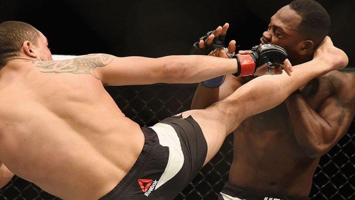 Дерек Брансон - Роберт Уиттакер (27.11.2016) UFC Fight Night 101 Robert Whittaker vs. Derek Brunson