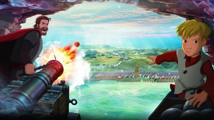 Крепость: щитом и мечом. Военный мультфильмы приключения