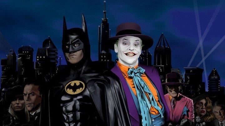 Бэтмен (приключенческий фэнтези Тима Бертона с Майклом Китоном, Джеком Николсоном и Ким Бейсингер) | США-Великобритания, 1989