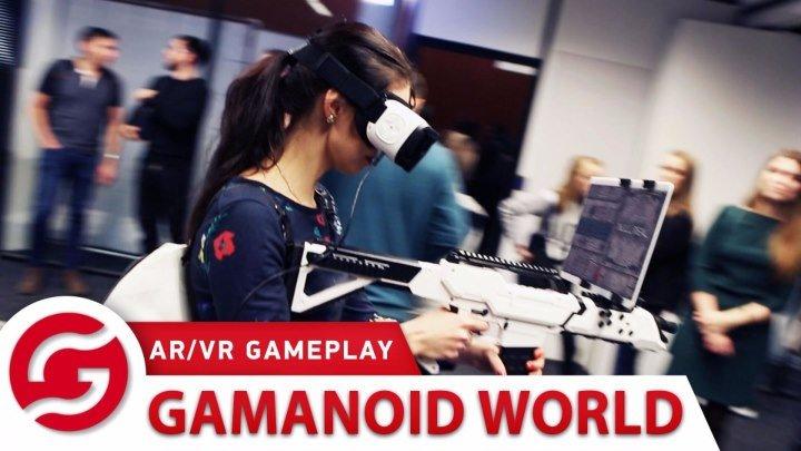 Gamanoid World. AR/VR GamePlay