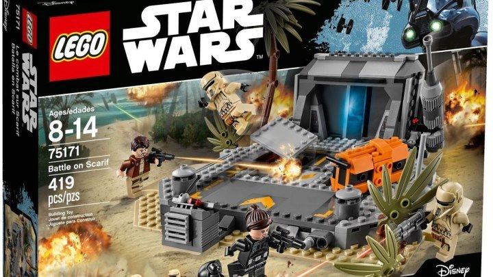 LEGO Star Wars 75171 Битва на Скарифе - Обзор Лего Звёздные войны (1)