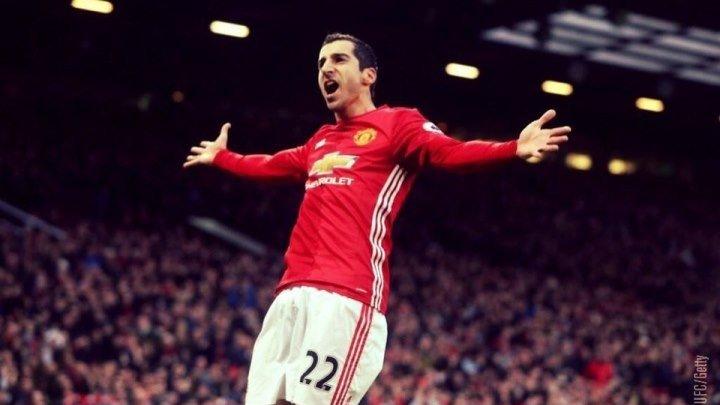 Генрих открывает счёт: «Манчестер Юнайтед» 1:0 «Тоттенхэм» Гол: Мхитарян, 29'.