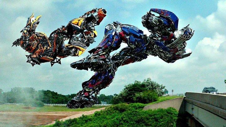 Гальватрон и Стингер против автоботов. Локдаун калечит Оптимуса. Трансформеры_ Э