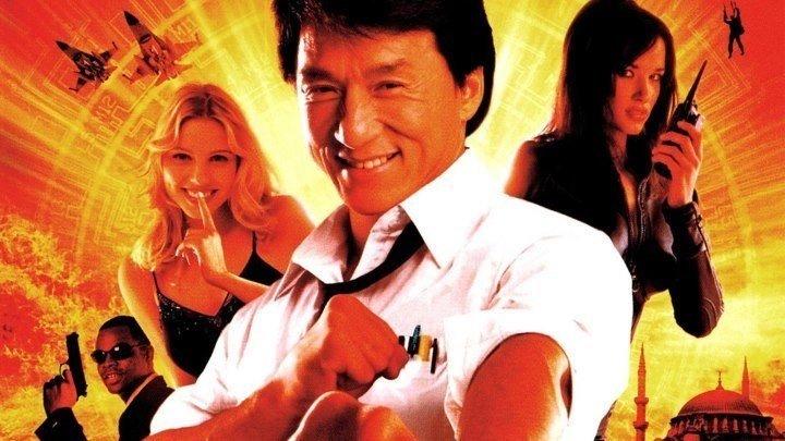 Случайный шпион (2002) боевик, комедия
