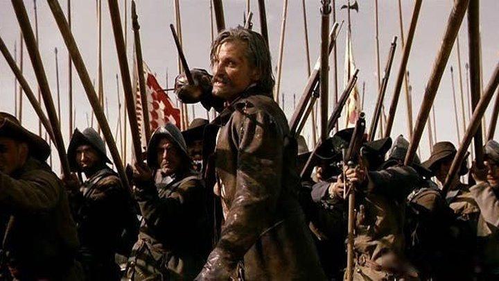 """Капитан Алатристе"" Alatriste. Боевик, Триллер, Приключения, Военный, Биография."