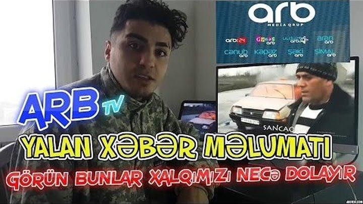 Buda Xalqımızı Dolayan Tv Kanalarımız ARB Tv üzü İfşa olundu.15 дек.2016 г.