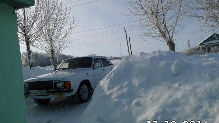 Зима в деревне !/с.Красивое Акмолинская область .