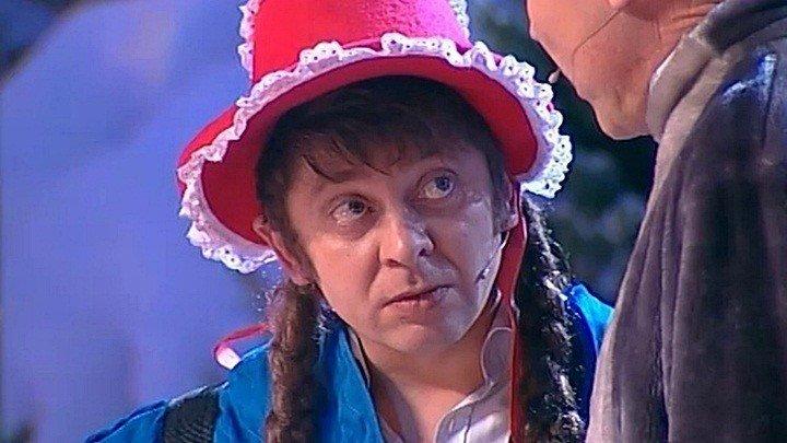 Красная шапочка (зимний вариант)