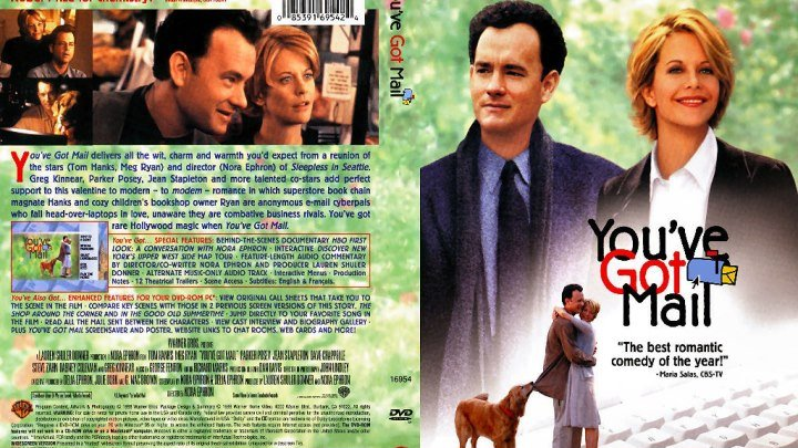Вам письмо (1998) Комедия, Мелодрама.