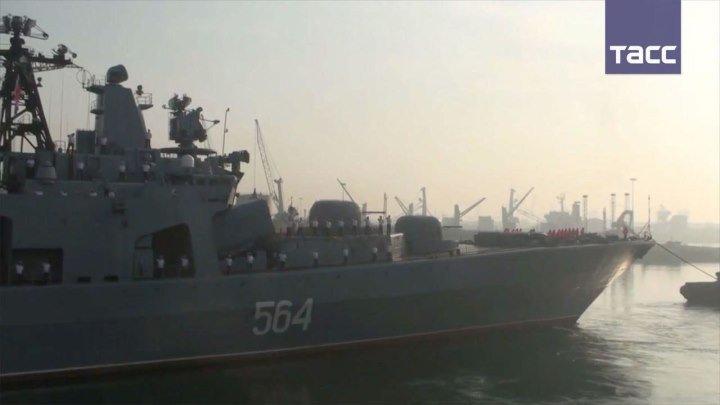 """""""Адмирал Трибуц"""" и """"Борис Бутома"""" вышли в Бенгальский залив в рамках учений Indra Navy - 2016"""