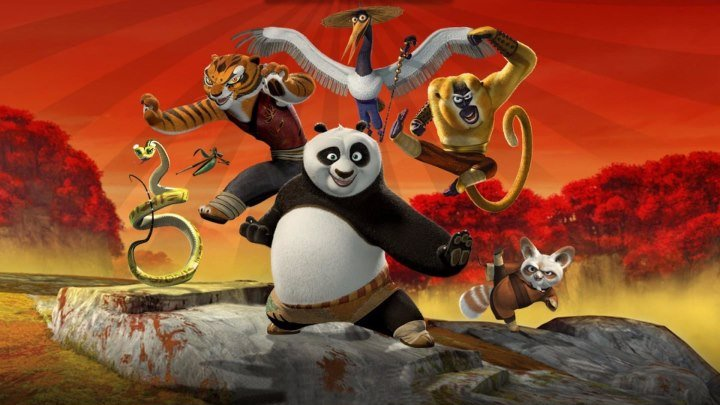 Kung Fu Panda. Secrets of the Furious Five.2008