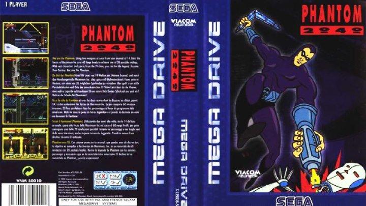 Phantom 2040 прохождение (SMD, Genesis, SEGA)