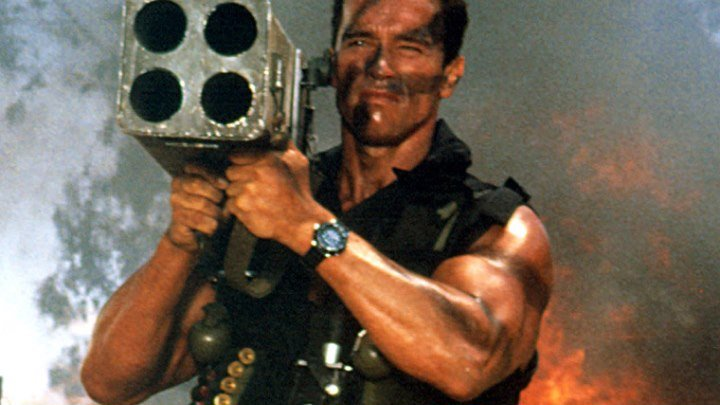 Коммандос 1985 боевик, триллер, приключения