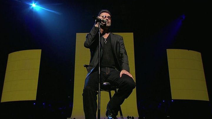 """George Michael - """"My Mother Had A Brother"""" (live in London's Earls Court) 2008."""
