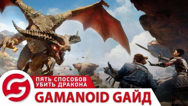 Gamanoid-гайд: пять способов убить дракона