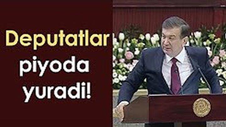 Shavkat Mirziyoyev Deputatlar Xaqida