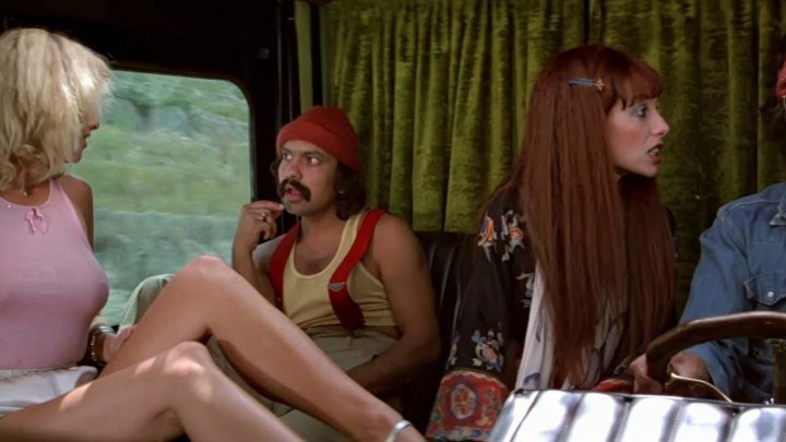 Укуренные / Up In Smoke (США 1978 HD 1080р) 18+ Комедия, Криминал, Музыка