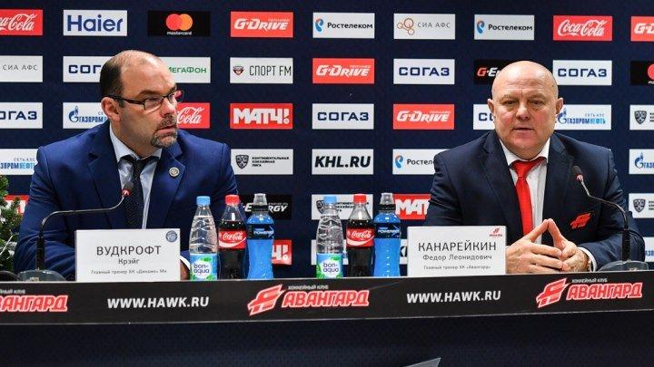 "23 декабря 2016. ""Авангард"" - ""Динамо"" Мн 0 - 1. Послематчевая пресс-конференция."