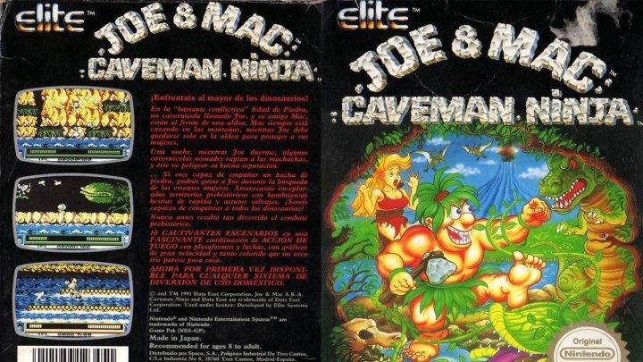 Joe & Mac: прохождение (NES, Famicom, Dendy)