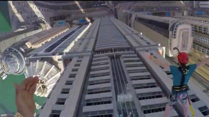 Прыжки с небоскреба. Дубай. 18+.