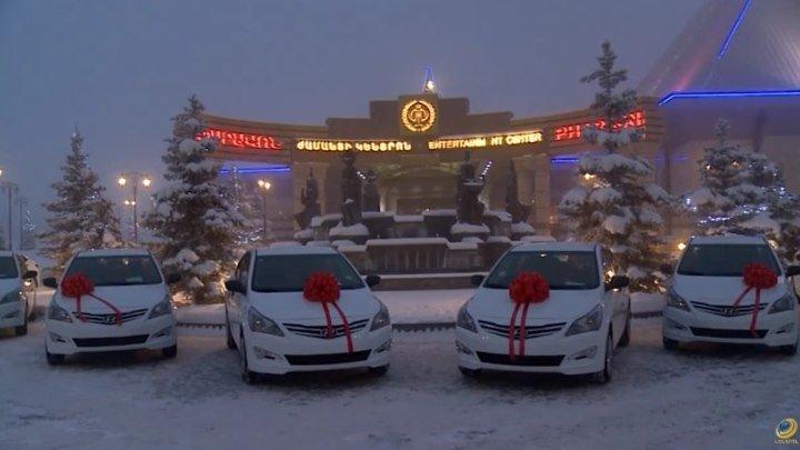 Церемония награждения лучших спортсменов Армении.