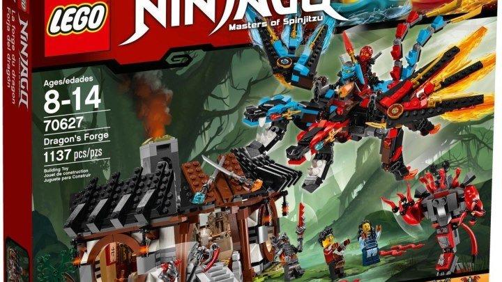 Лего Ниндзяго 70627 Кузница Дракона. Обзор LEGO Ninjago Dragon's Forge