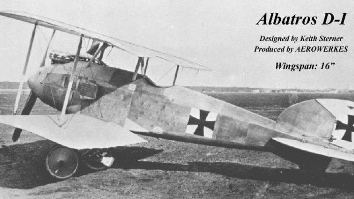 Albatros D.I— немецкий истребитель-биплан, использовавшийся в Первой мировой войне. Хотя его боевая карьера была короткой, самолёт стал первым истребителем серии Albatros D, которая составила основу эскадрилий Германии и Австро-Венгрии в последние два года войны.