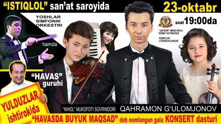 Havas guruhi - Havasda byuk maqsad nomli gala konsert dasturi 2016