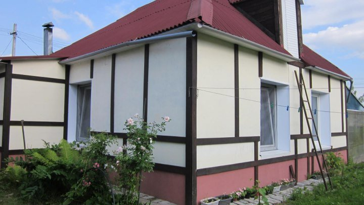 Дом за МКАДом с шикарным садом и со всеми удобствами