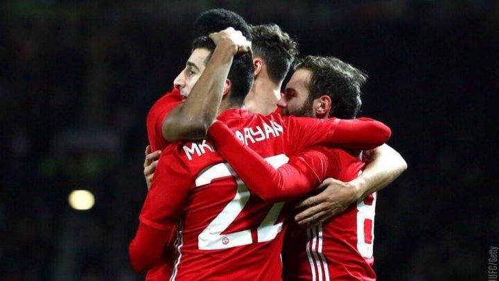 Голевая передача Генриха Мхитаряна в матче «Манчестер Юнайтед» 🆚 «Халл Сити» [1]:0