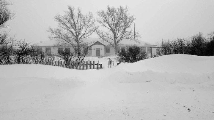 Где тропа снежком запорошена .../ с.Ленинское Есильский район .
