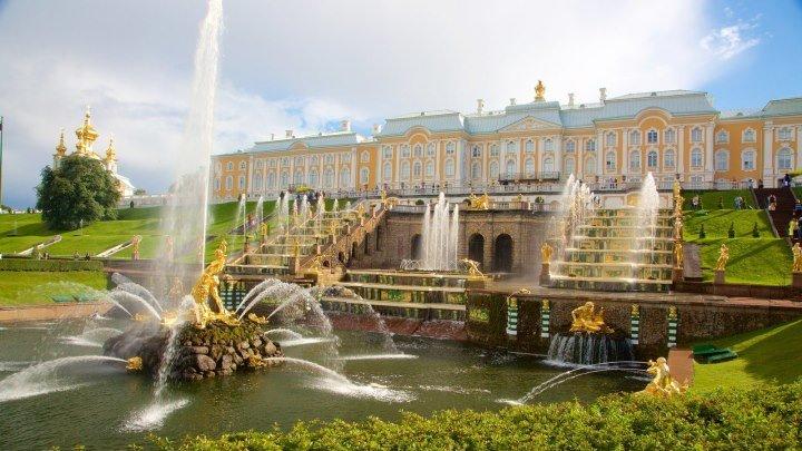 Петергоф - дворцы, парки, фонтаны
