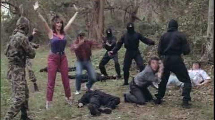 Взрывная бригада против ниндзя (Аргентина 1986) Боевик, Комедия, Приключения