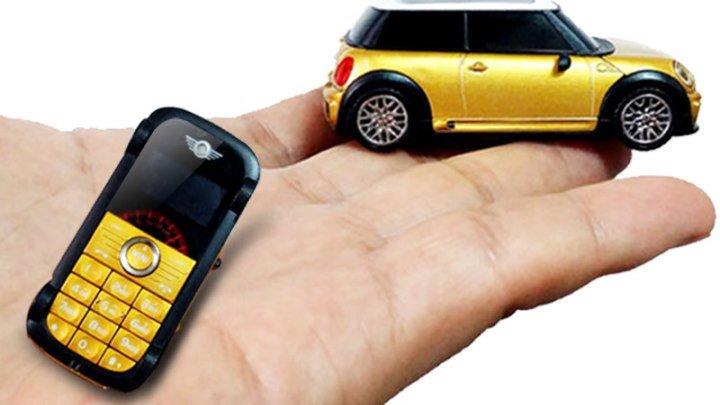 Обзор мобильного телефона в виде автомобиля Cooper Mini S 1