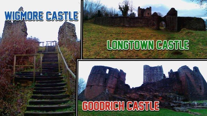 Замок Вигмор,Гудрич и Лонгтаун(Великобритания)