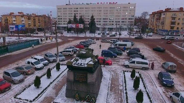 Города Украины с высоты птичьего полета - Житомир Зима 2016 - 2017