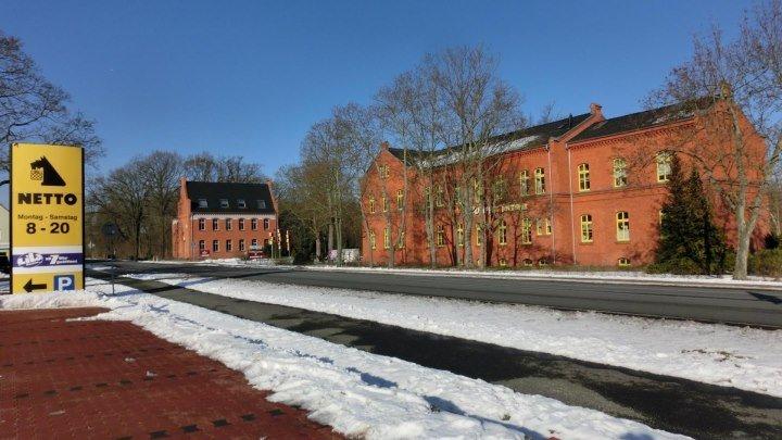 Altes Lager зимний.Treuenbrietzenstraße,Седьмои городок и др.22янвря 2017года