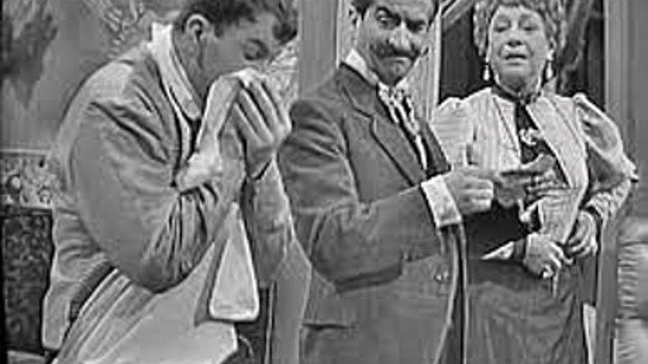 Луи Де Фюнес - Червь сомнения, или Блоха в ухе / La puce à l'oreille (Франция 1956) Комедия