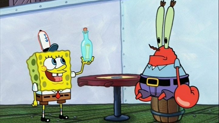 """SpongeBob Pantaloni Patrați """"Zgîrîie carapace"""""""
