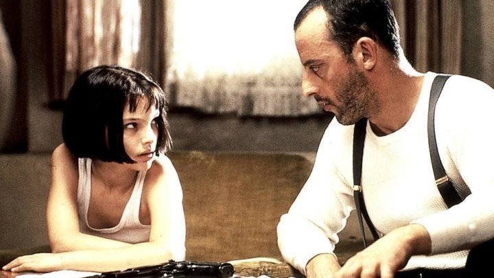 Леон (1994) триллер, драма