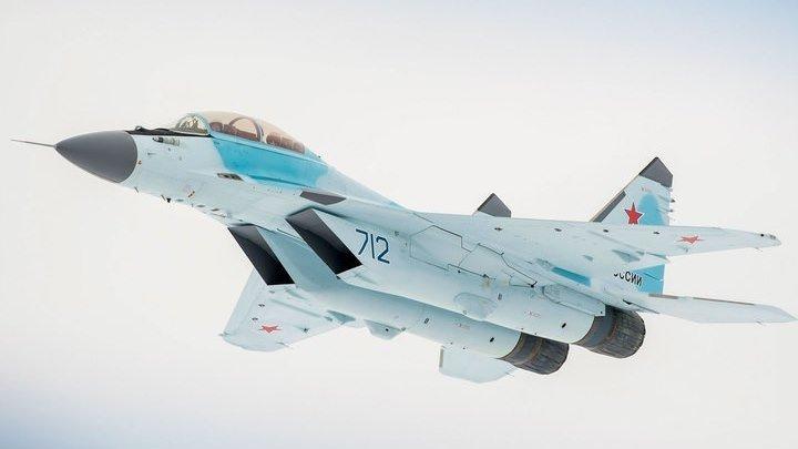 Путину показали МиГ-35, оснащенный лазерным оружием_ видео