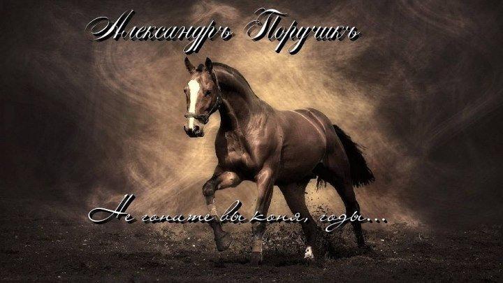 А.Поручикъ - Не гоните вы коня, годы...