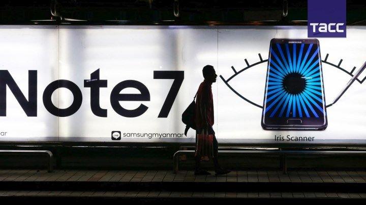 Что не так с Galaxy Note 7- в Samsung назвали причину возгораний своей флагманской модели