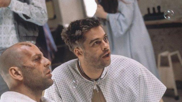 12 обезьян (1995) фантастика, триллер