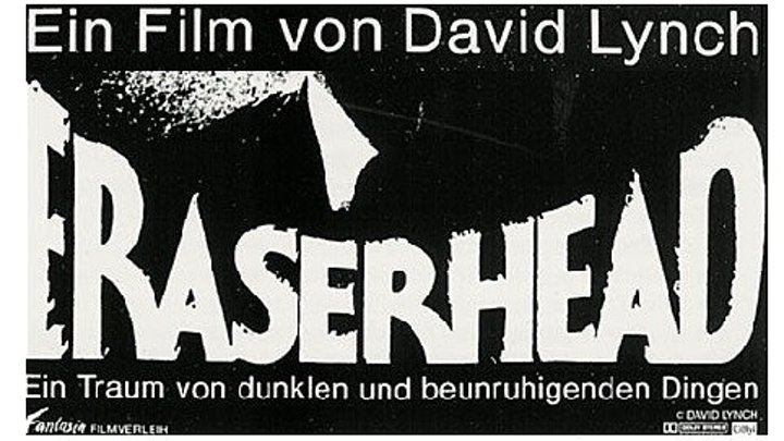 Голова-ластик 1977 Канал Дэвид Линч