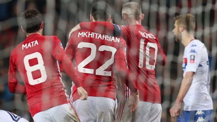 Гол Генриха Мхитаряна | Манчестер Юнайтед 3:0 Уиган